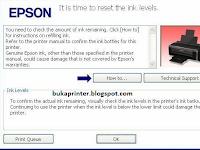 Cara Jitu Reset Ink Level Printer Epson L210