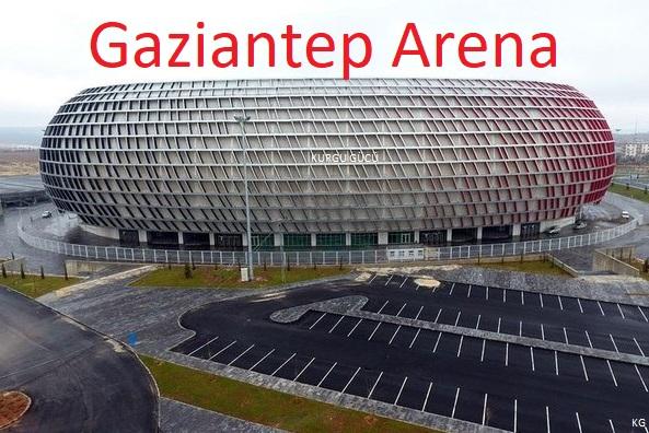 Türkiye'nin En Büyük Futbol Stadyumu - Gaziantep Arena - Kurgu Gücü