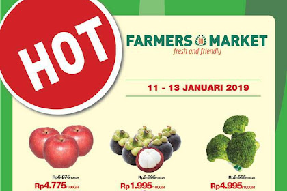 Katalog Farmers Promo Weekend JSM 11 - 13 Januari 2019