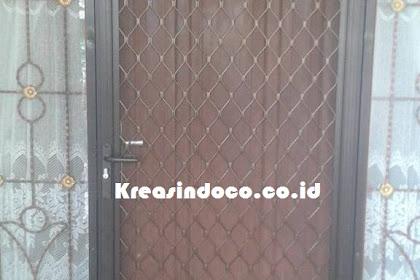 Pintu Expanda Aluminium Pesanan Bu Susi Di Tajur Bogor