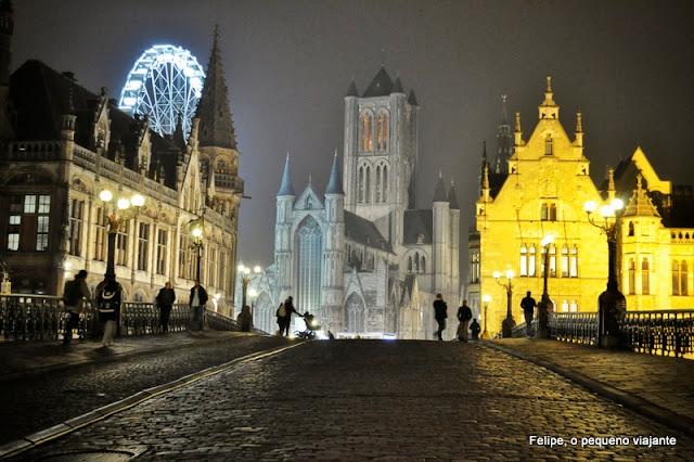 Gent - viajando de motorhome pela Bélgica