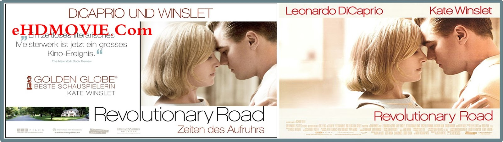 Revolutionary Road 2008 Full Movie English 720p - 480p ORG BRRip 400MB - 900MB ESubs Free Download