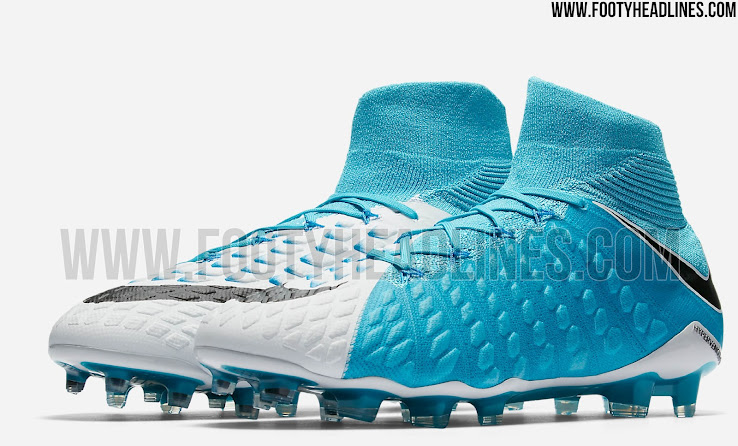 outlet store ddd5c 42c4e Photo Blue Nike Hypervenom Phantom III 2017 Boots Released ...
