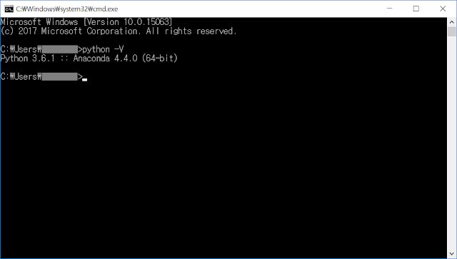 Python 설치 여부 및 버전 확인