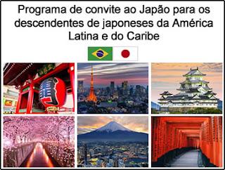 Convite ao Japão para os Descendentes de Japoneses