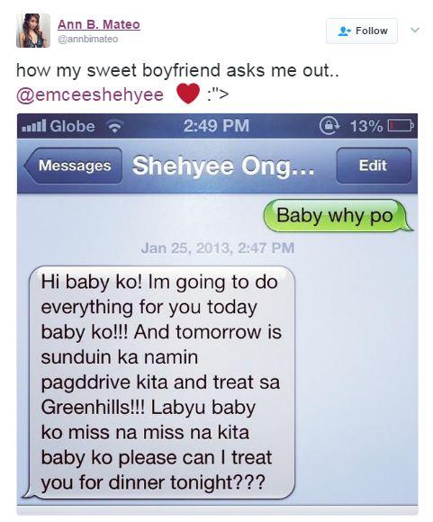 'Manyak kaya ako!' Ann B. Mateo Did This as Shehyee Tried to Kiss Her on the Cheek!