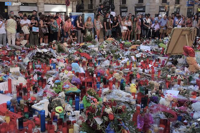 Attentato 17 agosto 2017 - Barcellona - La Rambla