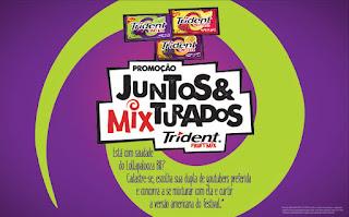 """Promoção Trident """"Juntos & Mixturados""""  Lollapalooza Chicago"""