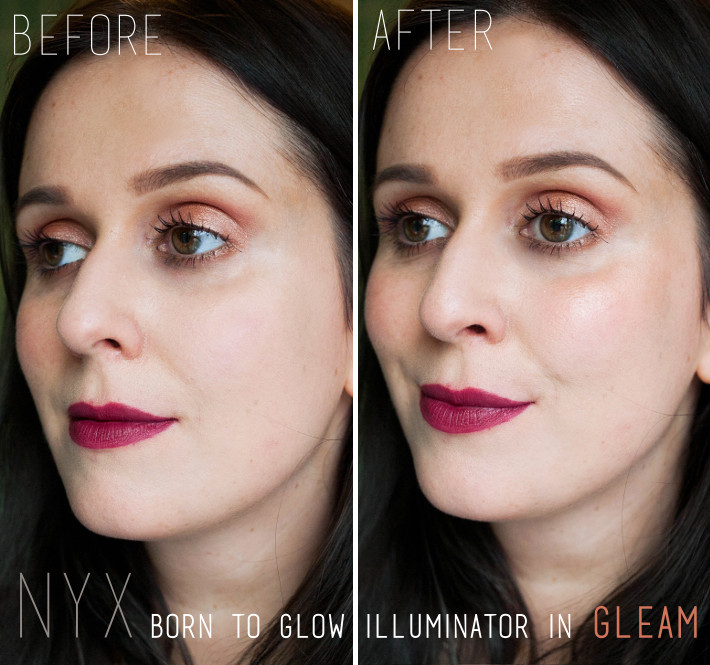 NYX Born to Glow Illuminator in Gleam review
