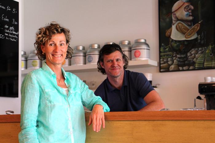 Amanda und Andreas von Amandas in der Villa Erlenbad