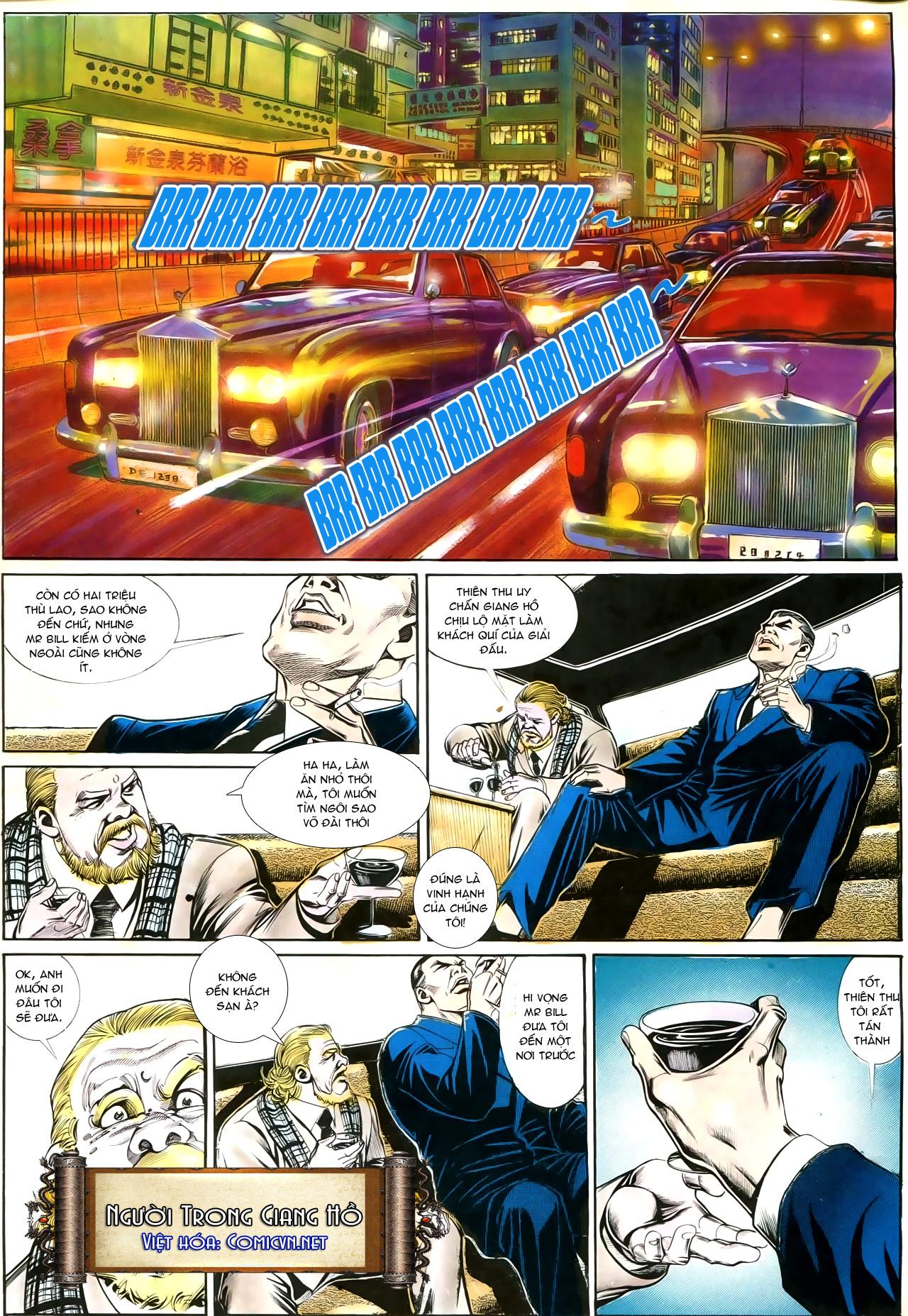 Người Trong Giang Hồ chapter 192: bá khí trúc liên bang trang 8