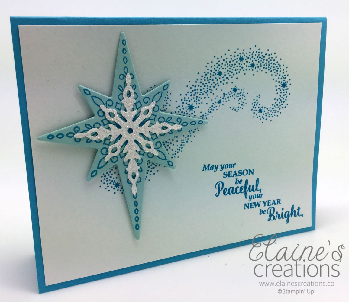 The Star of Light stamp set is