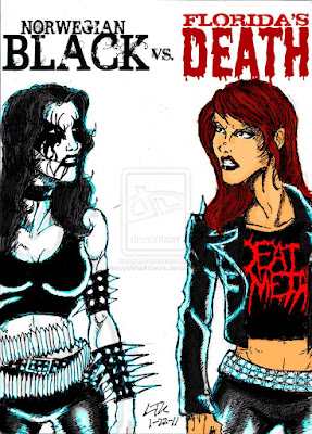 black vs death