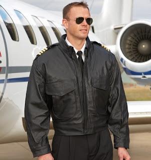 Gambar Jaket Kulit Pilot