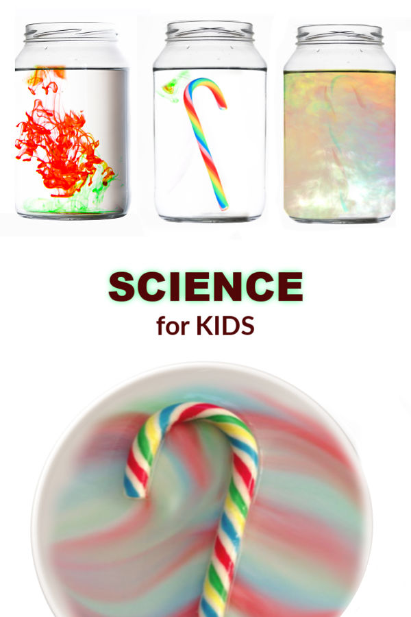 MAKE A CANDY CANE RAINBOW!  So cool! #experimentforkids #scienceexperimentskids #candycanecrafts #candycaneexperiment #candycaneexperimentforkids #candycanescience #disappearingcandycane #growingajeweledrose