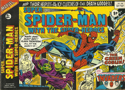 Super Spider-Man  with the Super-Heroes #186, the Green Goblin