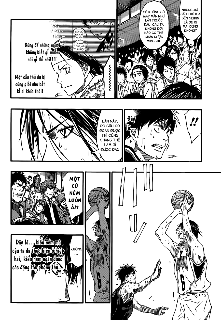 Kuroko No Basket chap 256 trang 11