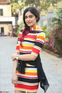 Adha Sharma in a Cute Colorful Jumpsuit Styled By Manasi Aggarwal Promoting movie Commando 2 (32).JPG