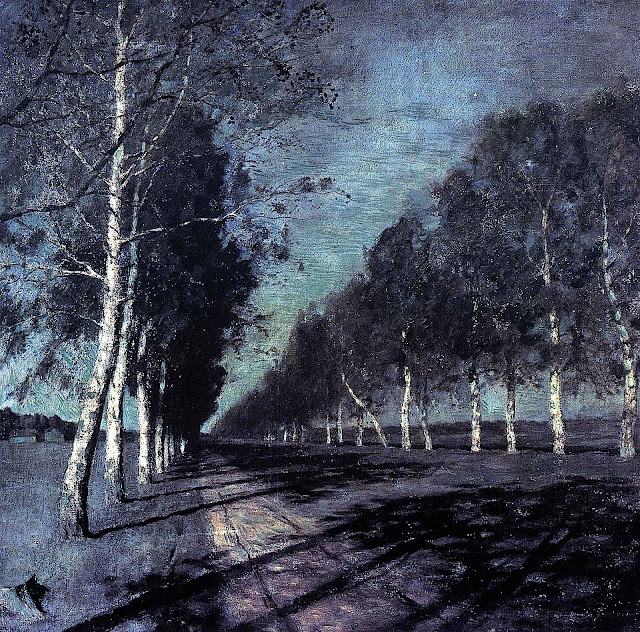 Isaak Llich Levitan, country road