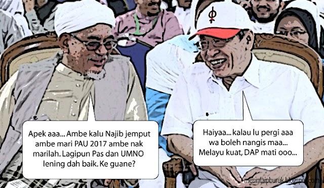 Gempar!!! Pemimpin Pas hadiri PAU 2017...