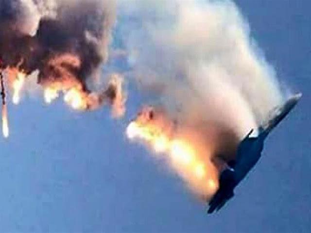تحطم طائرة روسية أثناء اقلاعها في مطار حميميم