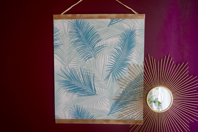 Affiche Diy tropical