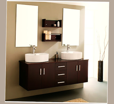 Affordable Modern Furniture Los Angeles for Bathroom With 2 Mirror and 2 Sink Excelent Picture