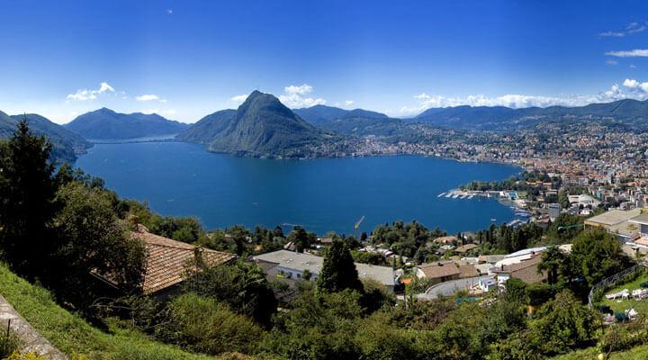Lugano Lake Swiss