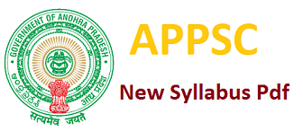 APPSC New Syllabus