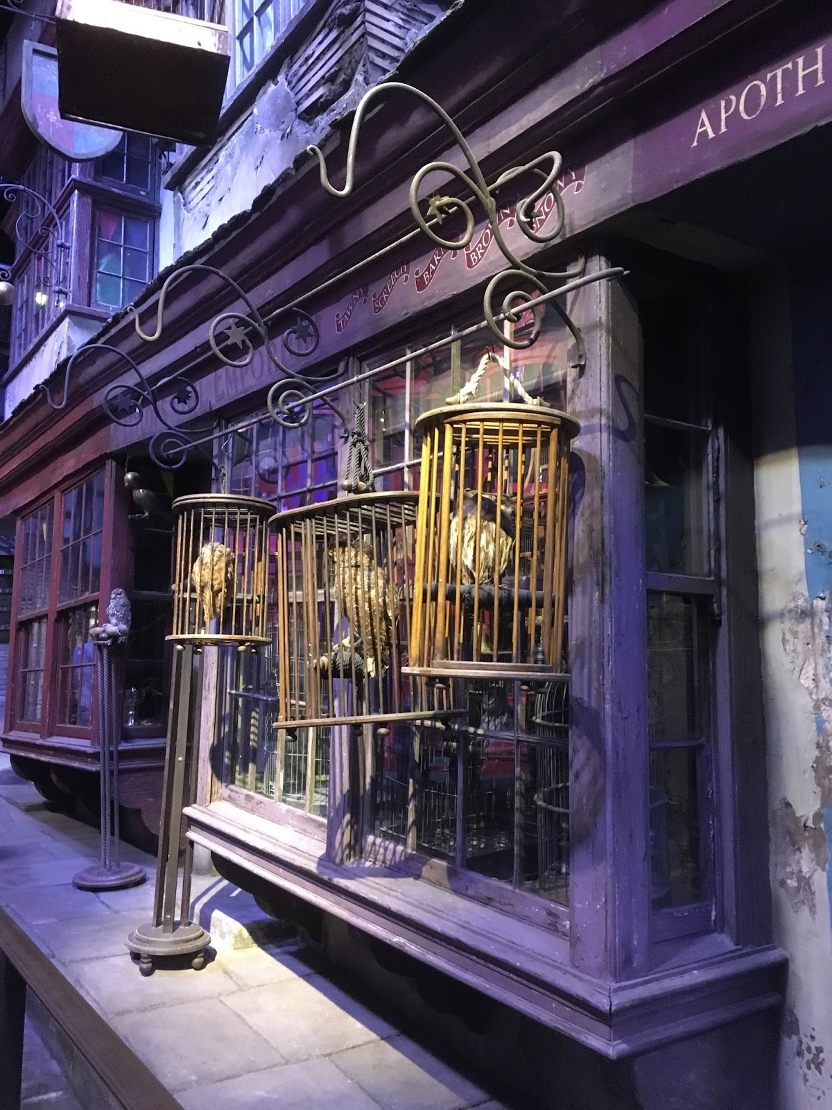 sockletworld harry potter diagon alley shop windows. Black Bedroom Furniture Sets. Home Design Ideas