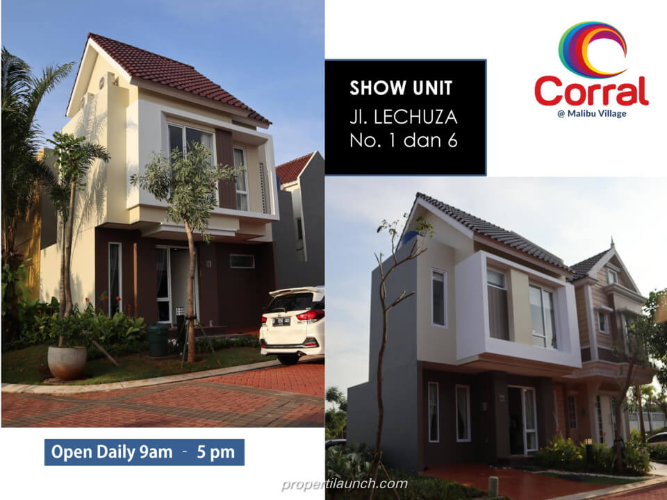 Show Unit Rumah Corral @ Malibu Village