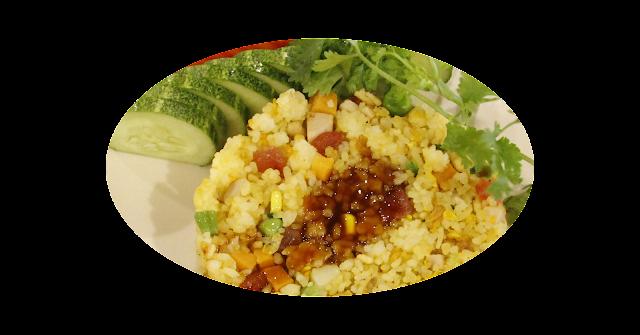 Cơm chiên dương châu - Đồ Ăn Nhanh Tại Đà Nẵng - Ảnh 1