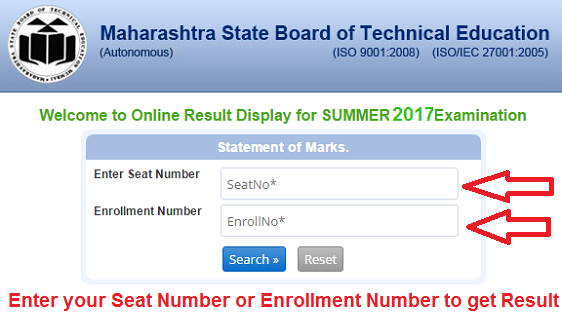 MSBTE Result Summer 2017