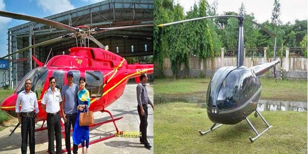 Rent Helicopter from Bangla International Airlines