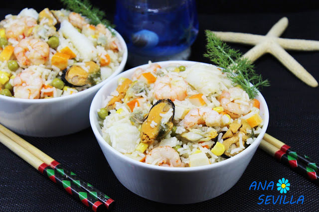 Ensalada de arroz marinera Thermomix