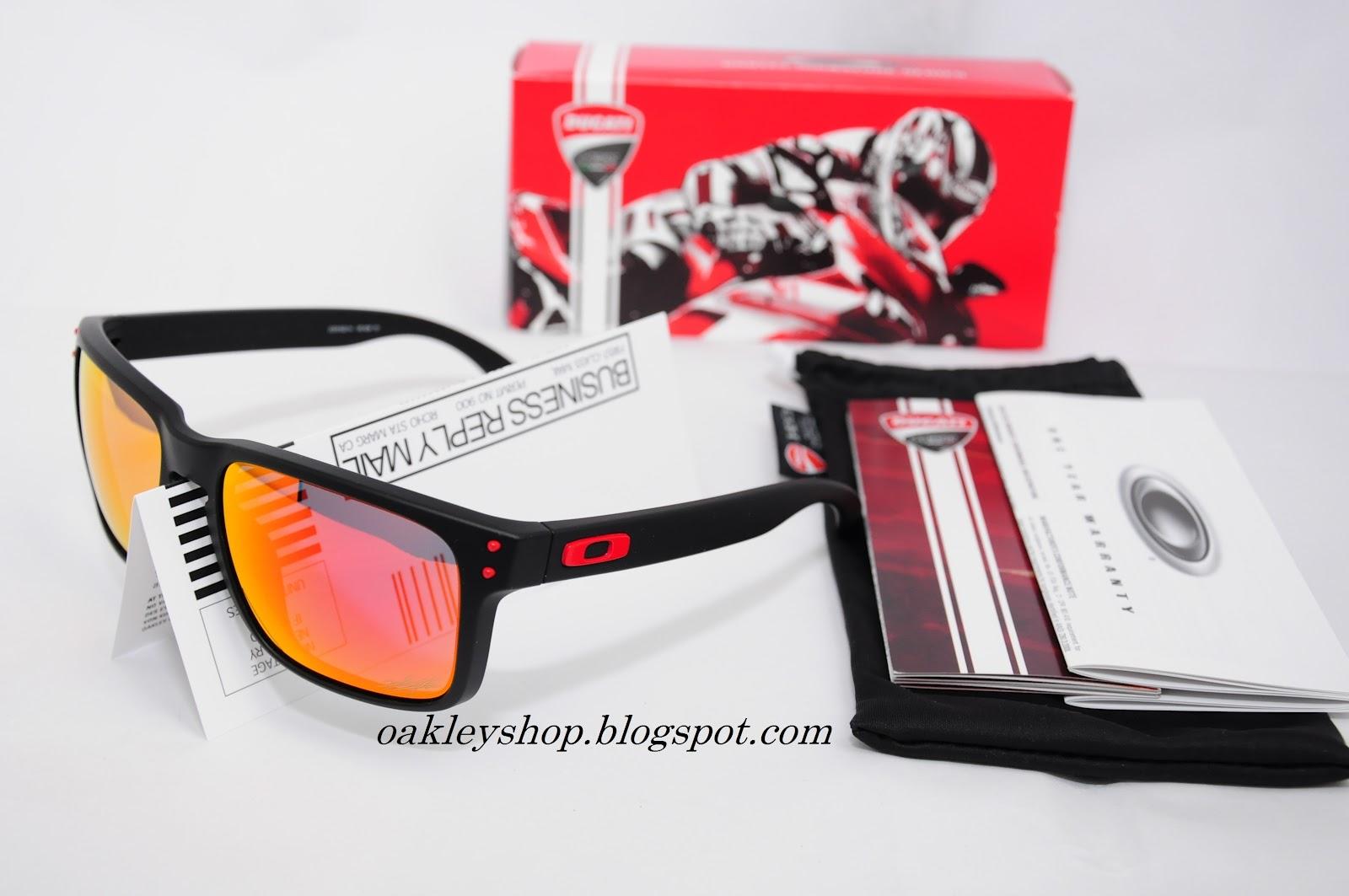 b0fcc78f7e Oakley Ducati Holbrook Nicky Hayden Edition Matte Black Ruby Iridium ...