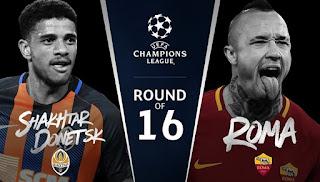 Roma - Shakhtar DonetskCanli Maç İzle 13 Mart 2018