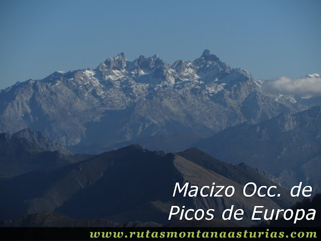 Vista del Macizo Occidental de Picos de Europa