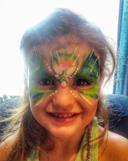 enhance your face painting with bling