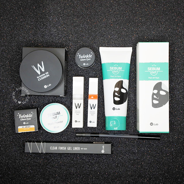 Althea Korea, Althea Beauty Box Review, Althea Box Review, Althea Special Box Review, Althea W.Lab, W. Lab Review, W. Lab Korean Brand Review