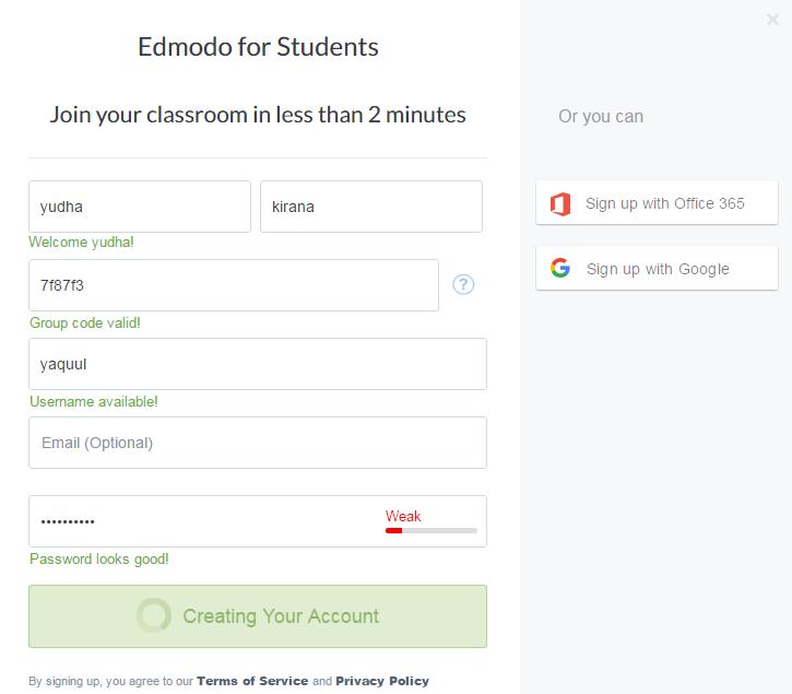 Cara Mendaftar Edmodo Untuk Siswa Dan Mahasiswa Lengkap