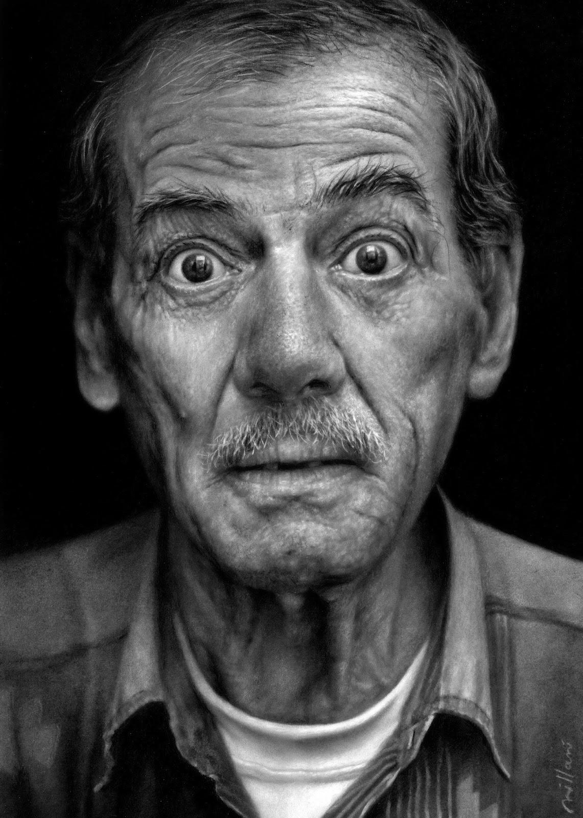 Funny wrinkled old man joke picture