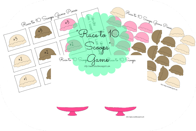 Ice Cream Activities and Printables