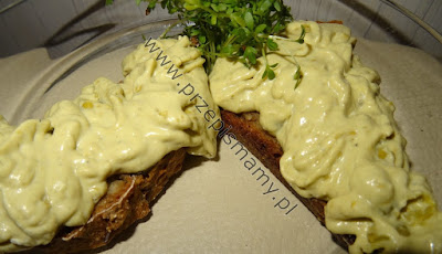 Pasta z groszku i serka mascarpone