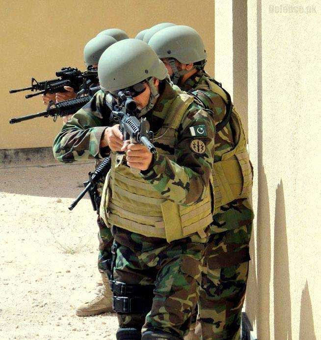 Pakistan Special Forces Training