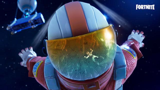 Fortnite Astronaute Saison 3 - Fond d'écran en 4k