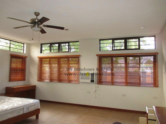 Wooden Blinds For Master's Bedroom Makeover - Malanday, Marikina City