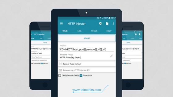 Cara Menggunakan HTTP Injector