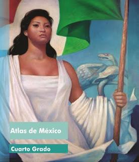 Libro de Texto Atlas de Méxicocuarto grado2016-2017