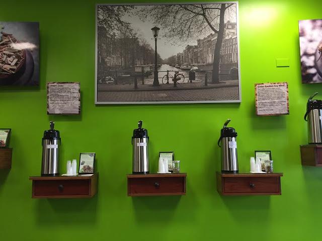 Tea sampling abounds at Tea Canal.